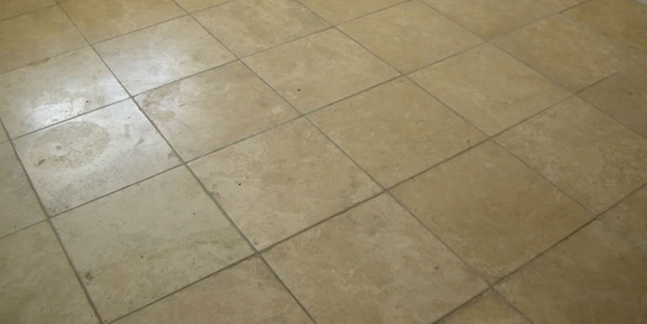 Sealing unglazed ceramic tile